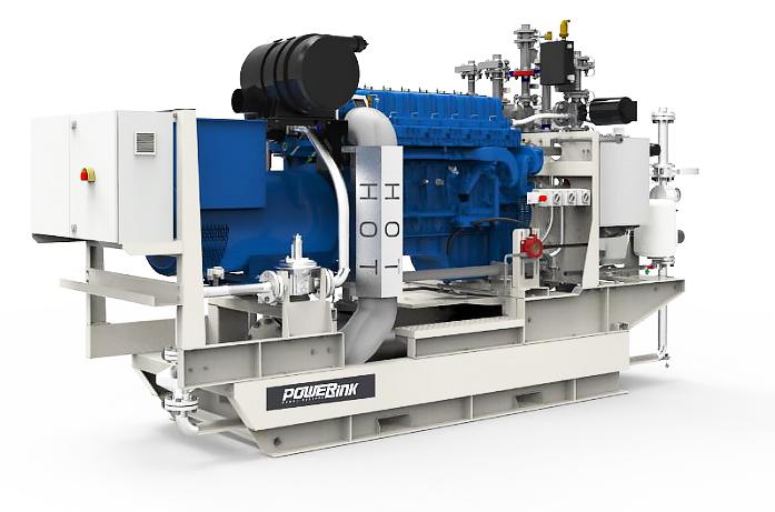 Газопоршневая электростанция (ГПУ) PowerLink GE70NG
