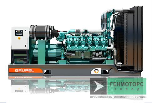 Дизельный генератор (электростанция) G990BDGR Grupel