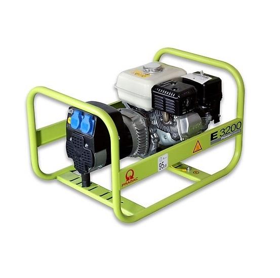 Бензиновый генератор (Бензогенератор) Pramac E3200, 230V, 50Hz