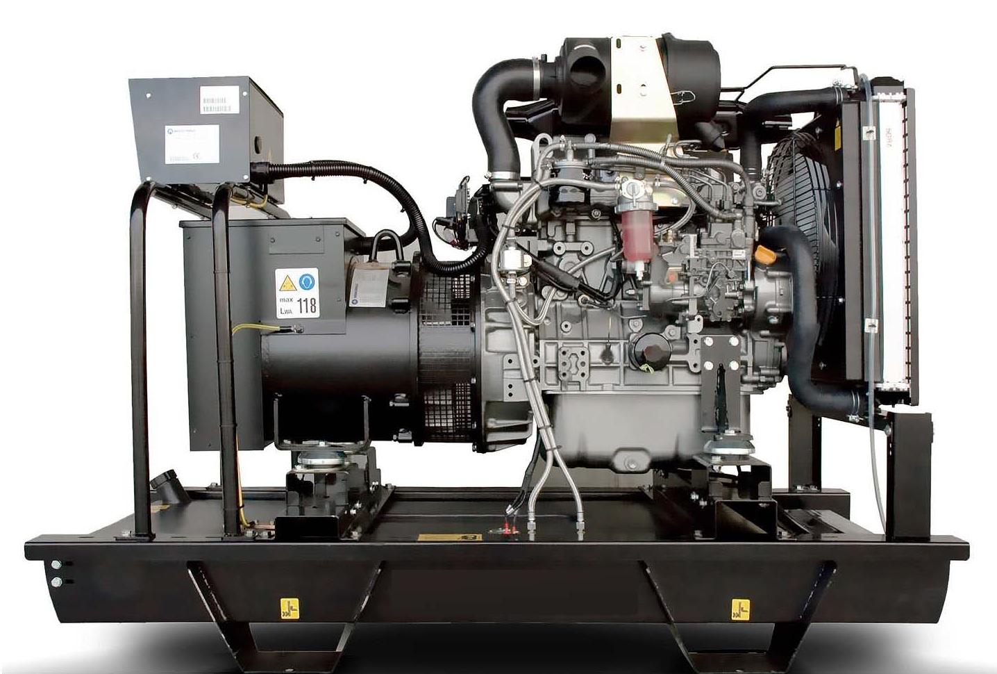 Дизельный генератор (электростанция) Energo ED 9/230 Y