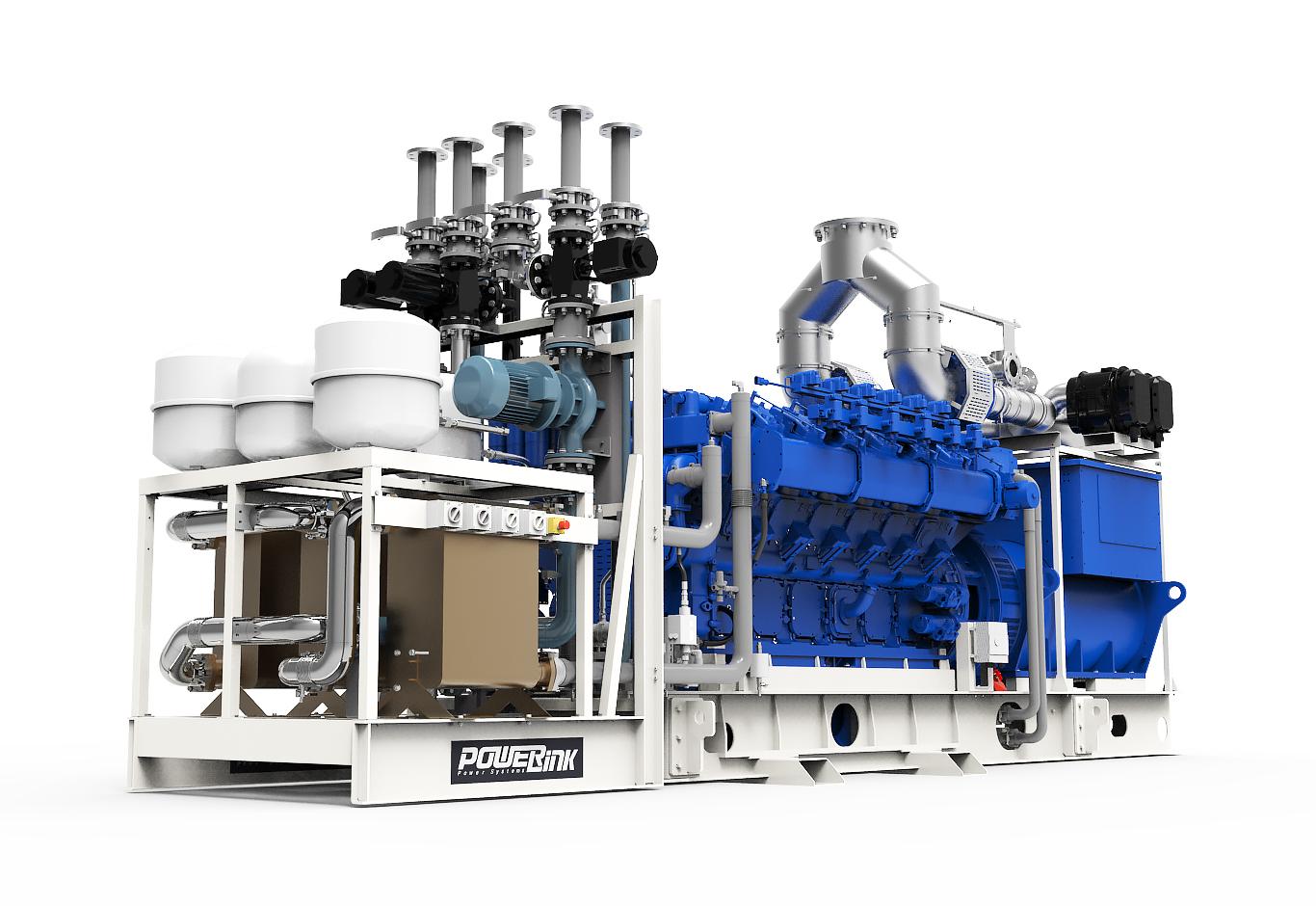 Газопоршневая электростанция (ГПУ) PowerLink GXC1000-NG
