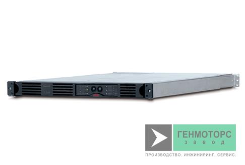 Источник бесперебойного питания APC Smart-UPS 750 ВА, USB, 1U