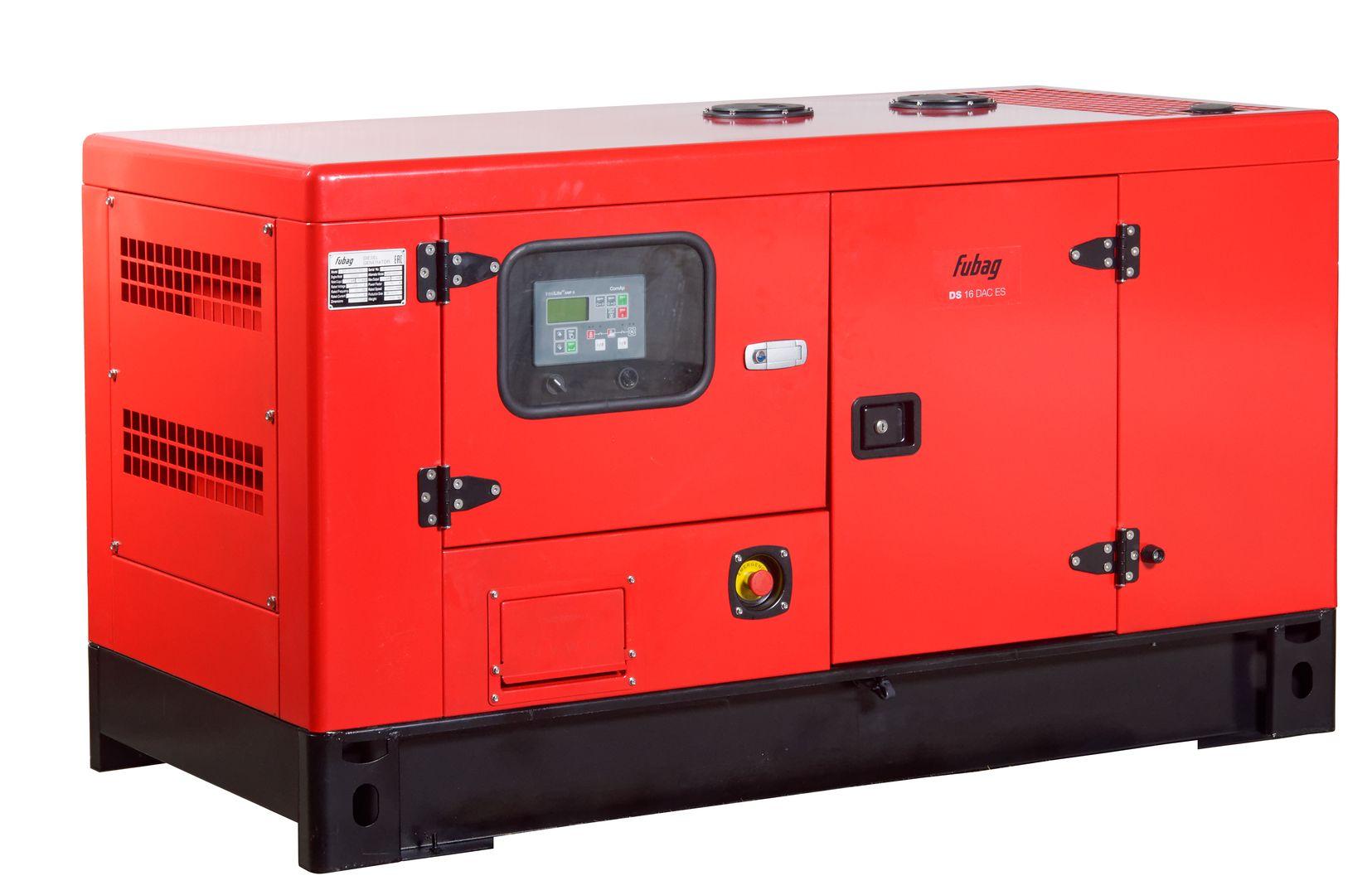 Дизельный генератор (электростанция) FUBAG DS 16 DAC ES
