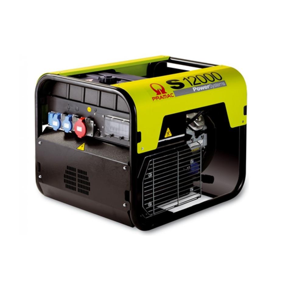 Бензиновый генератор (Бензогенератор) Pramac S12000, 230V, 50Hz #AVR #CONN #DPP