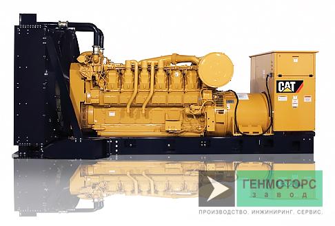 Дизельный генератор (электростанция) Caterpillar 3512 1020 кВт