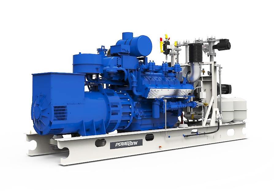 Газопоршневая электростанция (ГПУ) PowerLink TCG1200-NG
