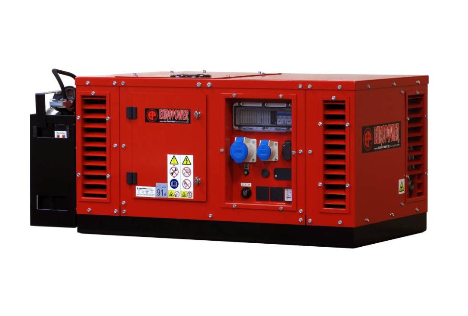 Бензиновый генератор (Бензогенератор) Europower EPS 12000 E