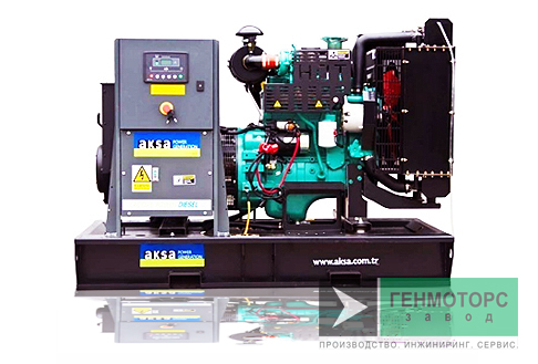 Дизельный генератор (электростанция) AKSA APD66C